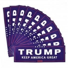 3/10 Uds. Donald Trump para el presidente 2020 parachoques cuerpo coche pegatina mantener hacer América gran decoración coche es
