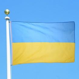 Alta calidad 90x150cm Bandera de Ucrania poliéster Bandera Nacional país decoración del hogar