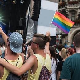 Bandera LGBT de 90x150cm para banderas de arco iris Gay para el Desfile del orgullo Gay de lesbianas Banners bandera colorida de