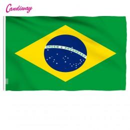 3 ftx5ft bandera de Brasil 150x90cm bandera personalizada Bandera Nacional superpoli interior/exterior bandera de Brasil Bandera