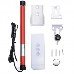 12V automático DIY patín Motor Tubular cortinas eléctricas Motor persianas enrollables persianas Control remoto inteligente Mayi