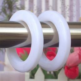 85 unids/lote anillos de cortina de plástico accesorios para cortinas anillos de plástico ojal de cortina superior CP001D3