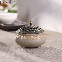 Quemador de incienso repelente de mosquitos de cerámica soporte de incienso de bobina de porcelana de decoración de salón clásic