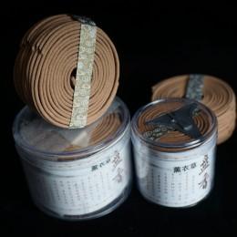 2017Natural sándalo incienso hogar fragancia bobina incienso especia antiséptico refrescante 48 bobinas por caja Rosa jazmín Mag