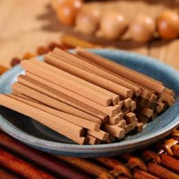 100 unids/caja palillo de sándalo Natural, hilo, plato, palo de bambú, regalo de incienso, fragancia hogareña de decoraciones fa