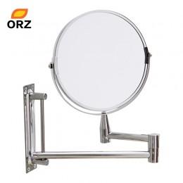 """Espejo de pared ORZ extender doble lado baño cosmético afeitado y maquillaje cara Rotatalbe 7 """"3X espejo de aumento"""