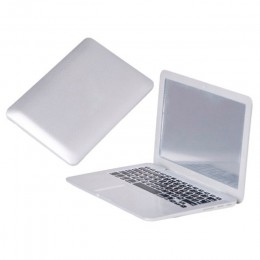 Espejo de tocador de moda maquillaje Mini bolsillo espejo de ordenador portátil vidrio de ordenador mujeres niñas creativos Espe