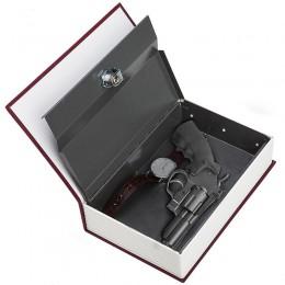 4 Color medio de seguridad-libro clave/caja/almacenamiento/Banco creativo caja de dinero accesorios para el hogar