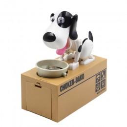 Caliente lindo pequeño perro cerdito ahorrar dinero Banco ahorro dinero bote caja de monedas puede creativo regalo niños regalos