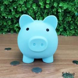 Cajas de dinero con forma de cerdo de dibujos animados juguetes para niños Regalo de Cumpleaños cajas de ahorro de dinero para e