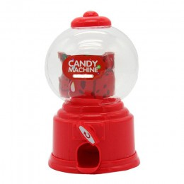 Linda máquina de dulces Mini burbuja dispensador de bolas de chicle banco de monedas niños juguetes niños regalo E2S