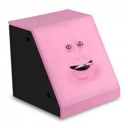 Cara dinero caja para comer hucha gato Caja de Ahorro caja para monedas dinero Banco de Ahorro de monedas para niños regalo máqu