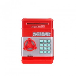 Anpro contraseña electrónica hucha ATM caja de dinero efectivo moneda depósito automático billetes máquina de ahorro de dinero A