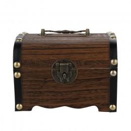 1 pieza gran oferta alcancía de madera caja fuerte de ahorro con cerradura tallada en madera hecha a mano Legendary Cofre del Te