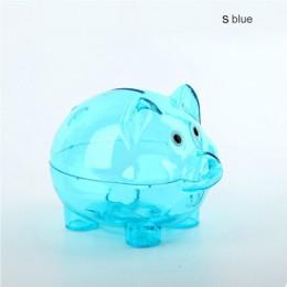 Caja de almacenamiento de monedas de regalo de cumpleaños con forma de cerdo de dibujos animados