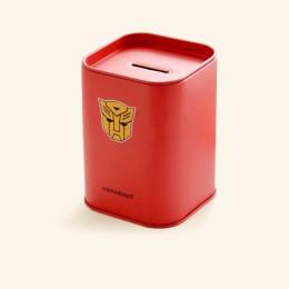 Creativo hucha de hojalata Superman caja de dinero cajas de monedas de ahorro seguro de dinero artesanías regalos accesorios de