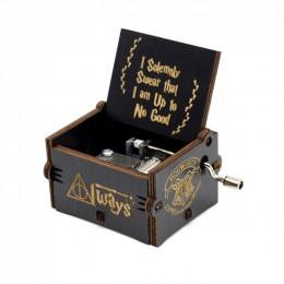 2019 nueva caja de música de Reina tallada Star Wars Juego de tronos Castillo en el cielo caja de música de madera de mano regal