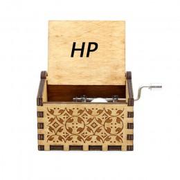 Venta al por mayor de madera antigua mano reina caja de música Retro grabado Juego de tronos caja de música navidad feliz regalo