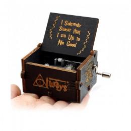 Caja de música de madera de mano de Reina en Stock Feliz cumpleaños estrella guerra Juego de tronos padrino regalo de Navidad Añ