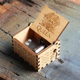 2019 nueva caja de música de la Reina de la manivela de la mano de madera Juego de tronos Dragon Ball a mi Goigeous esposa tema