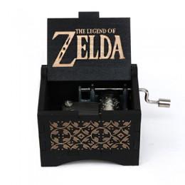 Antiguo tallado mano manivela de madera usted es mi Sol Negro caja de música regalo de navidad regalo de San Valentín regalo de
