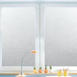 30/45/60/80/90 CPVC película de ventana esmerilada pegatina de vidrio impermeable hogar dormitorio Baño Oficina privacidad Scrub