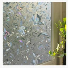 Pegatinas de vidrio esmerilado opaco baño decoración del hogar auto dormitorio sala de estar ancho 45cm ventana Protección de Pr