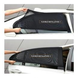 2 unids/set Auto vehículo ventana protección de malla parasol cubierta de protección contra mosquitos repelente de mosquitos pro