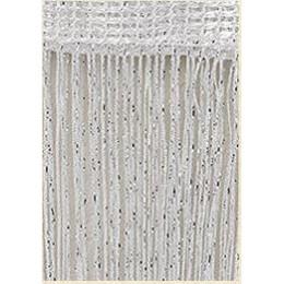 3x2,6 m cortina de cuerda brillante borla línea cortinas divisor de puerta y ventana cortina de decoración de sala de estar cene