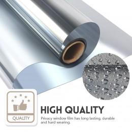 WXSHSH one way espejo ventana película privacidad y Control solar plata-varios tamaños de ancho disponibles, longitud 2/3/4/5/8