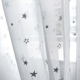 Brillantes estrellas niños cortinas de tela para niños niño niña dormitorio sala de estar azul/Rosa cortinas opacas personalizad