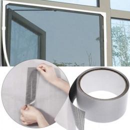 Cinta de reparación de mosquitera para puerta, repelente de insectos, cinta de reparación impermeable para pantallas de mosquito