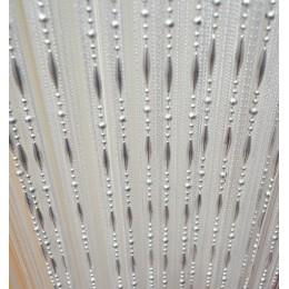 Cortina de línea de cuentas de 12 colores cortinas teñidas de hilo moderno para la puerta de la sala de estar del hogar Hotel ca