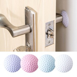 1 Uds. Engrosamiento de la pared Mute Door Stick Golf Styling goma Fender manija cerradura de la puerta protectora almohadilla d