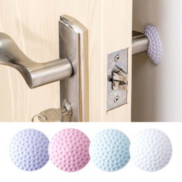 1 Pza almohadilla de goma gruesa para puerta, manija silenciosa, guardabarros, almohadilla protectora para puerta, tapón de pare