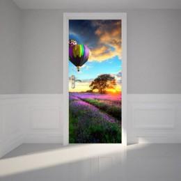 Plataforma 9 3/4 pegatina en la puerta papel tapiz autoadhesivo para puertas Diy arte decoración del hogar Mural ropero renovado