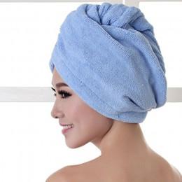Toalla de baño de microfibra gruesa de secado rápido súper absorbente para mujer gorro de secado para cabello Toalla de salón
