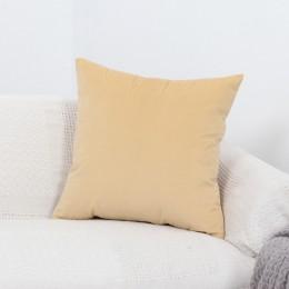 Funda de almohada de terciopelo funda de cojín para sala de estar sofá conjunto de cojín de color sólido funda de cojín funda de