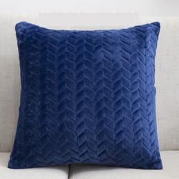 Funda de almohada 45*45 almohadas decorativas cuadradas decoración del hogar funda de cojín de terciopelo para sala de estar dor