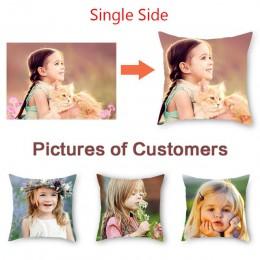 Fuwatacchi personalización imagen impresa funda de cojín mascota vida Personal fotos almohada Funda personalizada regalo almohad