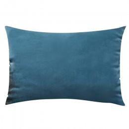 Funda de cojín de 26 colores 30x50 funda para almohada rectangular para sala de estar sofá terciopelo funda de almohada decoraci