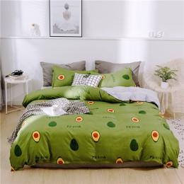 Juego de cama clásico 5 tamaño gris azul flor ropa de cama 4 unids/set edredón conjunto Pastoral sábana AB edredón lateral 2019
