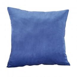 Funda De cojín De terciopelo azul para sofá De sala 45*45 cojines De kusenhoes decoración del hogar Housse De Coussin